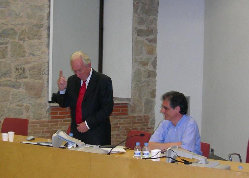 Eugenio Bulygin y José María Vilajosana