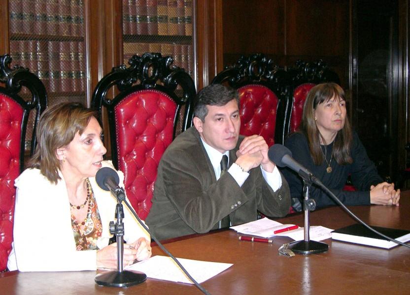 Graciela Varela, Julio César Castro y Magdalena Beatríz Giavarino