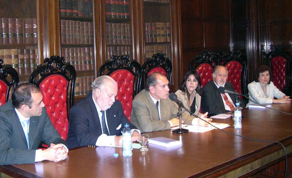 Gustavo Calvinho, Adolfo Alvarado Velloso, Carlos Amaya, Gabriela Laura Teves, Oscar Zorzoli y Olga Edda Cianca