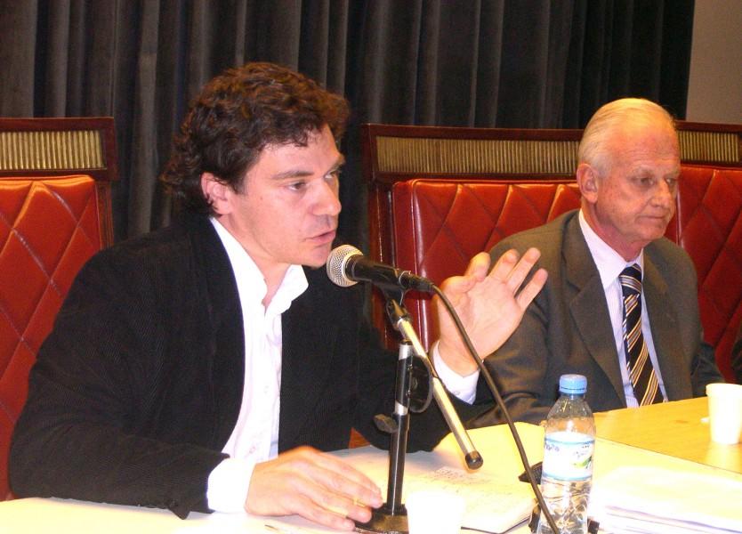 Roberto Gargarella y Gregorio Badeni
