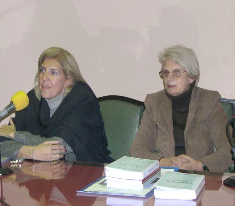 Lidia Garrido Cordobera y Lydia Calegari de Grosso