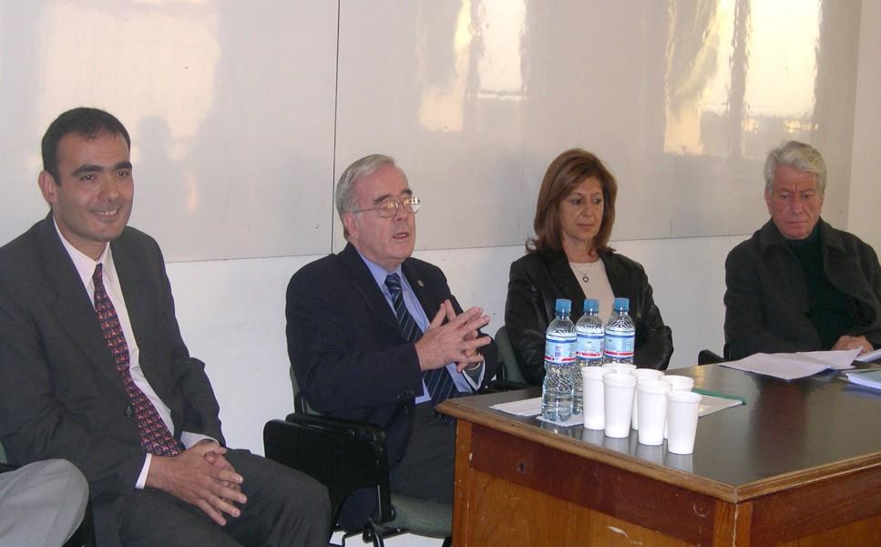 Juan A. Seda, Tulio Ortiz, Alicia Husni y Enrique Mariscal