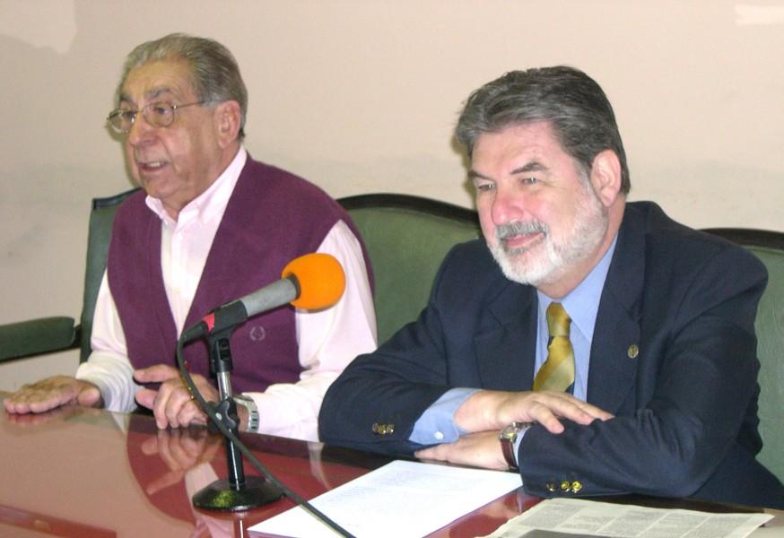 Héctor Sandler y Carlos Cárcova