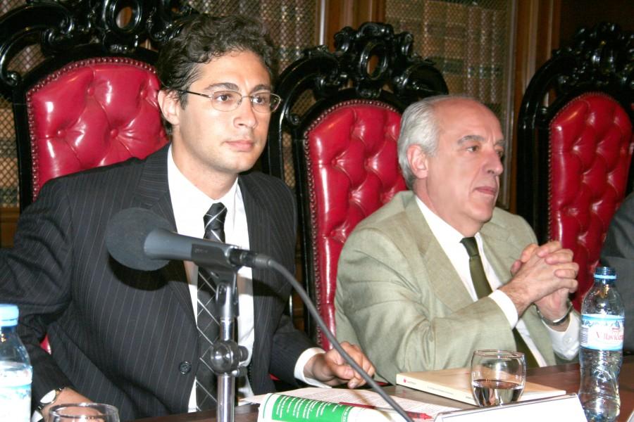 Rodrigo Luchinsky y Atilio Alterini