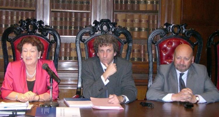 Vivien Stern, Marcos Salt y Francisco Mugnolo