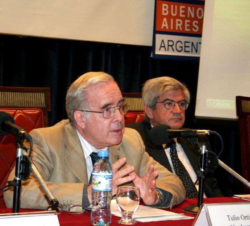 Tulio Ortiz y Alberto Iribarne