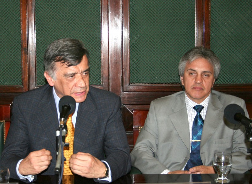 Jairo Parra Quijano y Alfredo Gozaíni