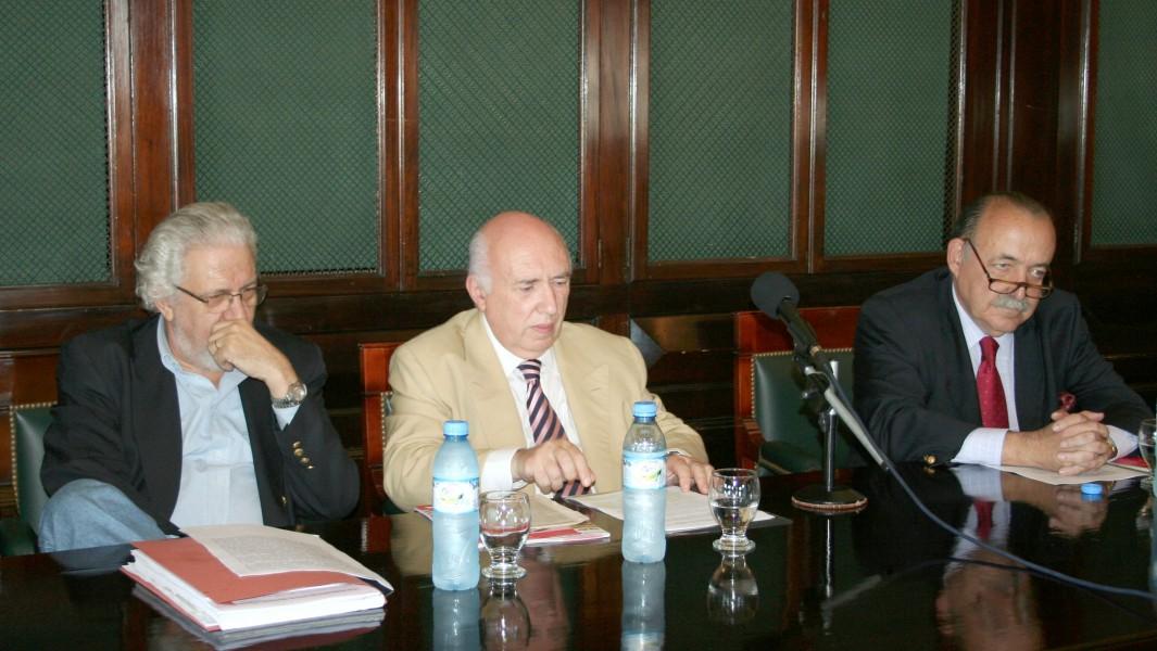 Arístides H. M. Corti, Rodolfo R. Spisso y José O. Casás