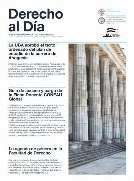 Tapa de Derecho al Día - Guía para Docentes 2019