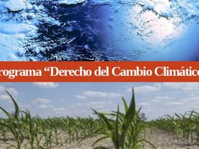 Derecho del Cambio Climático