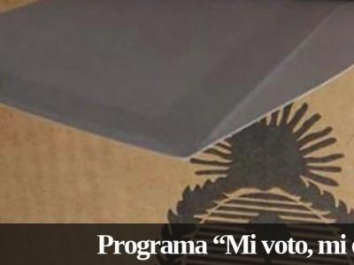 Mi voto, mi elección