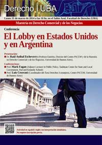 El Lobby en Estados Unidos y en Argentina