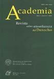 Academia. Revista sobre enseñanza del derecho de Buenos Aires